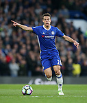 Chelsea's Cesar Azpilicueta in action during the Premier League match at Stamford Bridge Stadium, London. Picture date: May 8th, 2017. Pic credit should read: David Klein/Sportimage