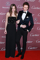 PALM SPRINGS, CA, USA - JANUARY 03: Hannah Bagshawe, Eddie Redmayne arrive at the 26th Annual Palm Springs International Film Festival Awards Gala Presented By Cartier held at the Palm Springs Convention Center on January 3, 2015 in Palm Springs, California, United States. (Photo by David Acosta/Celebrity Monitor)