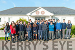 Spanish Visitors: Students from the town of Vigo in Spain who are studying  English in St. Michaels College, Listowel  & St. Josephs College, Ballybunion  pictured in Listowel on Monday morning last.