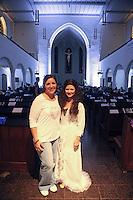 Steffi Helm (BIA Foundation) und Alexa Rockstroh (Stage Passion) haben die Benefizshow organisiert - Gross-Gerau 01.10.2016: Musical Benefizshow für BIA Foundation für Kinder in Nepal in der Groß-Gerauer Stadtkirche