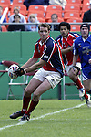 30 April 2005: Unidentified Philadelphia player. The Kansas City Blues defeated the Philadelphia Whitemarsh RFC 41-14 at the Arrowhead Stadium in Kansas City, Missouri in a Rugby Super League regular season game. .