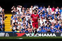 Liverpool's Mohamed Salah <br /> <br /> Photographer Craig Mercer/CameraSport<br /> <br /> The Premier League - Chelsea v Liverpool - Sunday 6th May 2018 - Stamford Bridge - London<br /> <br /> World Copyright &copy; 2018 CameraSport. All rights reserved. 43 Linden Ave. Countesthorpe. Leicester. England. LE8 5PG - Tel: +44 (0) 116 277 4147 - admin@camerasport.com - www.camerasport.com