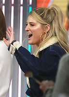 NEW YORK, NY - JANUARY 23: Meghan Trainor at NBC's Today Show in New York City on January 23, 2018. Credit: RW/MediaPunch
