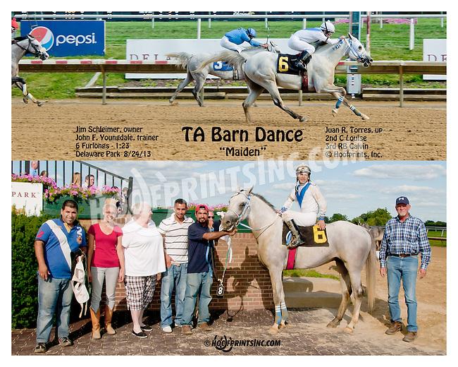 TA Barn Dance winning at Delaware Park on 8/24/2013
