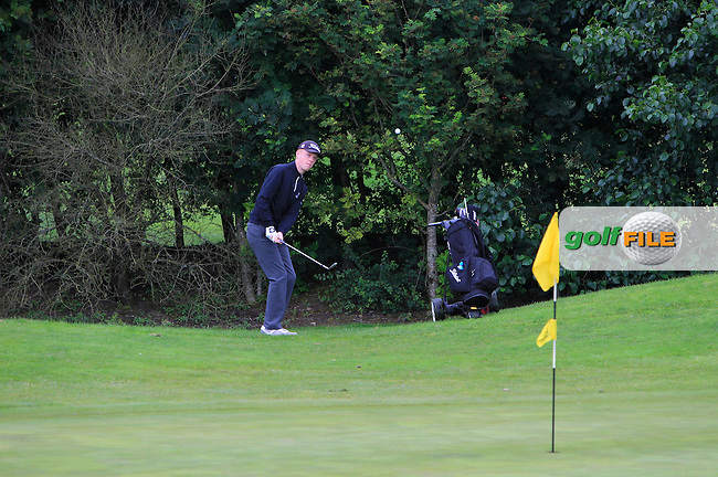 Jack Doherty (Carton House) on the 14th during R2 of the 2016 Connacht U18 Boys Open, played at Galway Golf Club, Galway, Galway, Ireland. 06/07/2016. <br /> Picture: Thos Caffrey | Golffile<br /> <br /> All photos usage must carry mandatory copyright credit   (&copy; Golffile | Thos Caffrey)