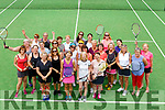 Enjoying the John Ross Jewellers sponsored Ladies Doubles Day competition at the Tralee Tennis Club on Saturday.