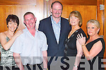 JIVING: Jiving the night away on Saturday at the 9th Annual Country Music Festival Weekend in the Brandon Hotel, Tralee, were Lily Breen and Richie Breen, Oakpark, Padraig Brady and Anne Brady, Farranfore, and Mary McIntyre of Manor..