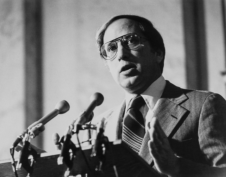Sen. Sam Nunn, D-Ga. on Aug. 12, 1983. (Photo by CQ Roll Call)