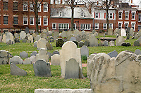 Copp's Hill Burying ground Freedom Trail Boston MA