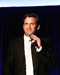 "Sean McDermott performs ""Walking in Memphis"", ""Can't Take My Eyes"", ""Tonight"" and ""This is the Moment"" as he supports the Broadway Extravaganza to honor the Candidacy of Artist Jane Elissa for the Leukemia & Lymphoma Society, Man & Woman of the Year on April 23, 2012 at the New York Marriott Marquis, New York City, New York.  (Photo by Sue Coflin/Max Photos)"