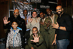 5th Anniversary of Layon Gray's Black Angels Over Tuskegee - off Broadway starring Layon, Laman Rucker, Melvin Huffnagle, David Roberts, Craig Colasanti, Ananias Dixon, Thaddeus Daniels, Lamar K. Cheston, Jeantique Oriol on February 15, 2014 at Actors Temple, New York City, New York. (Photo by Sue Coflin/Max Photos)