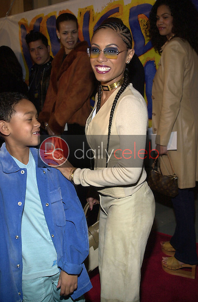 Jada Pinkett Smith and son
