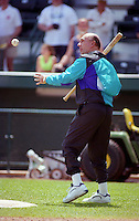 Dick Vitale during Spring Training 1993 at McKechnie Field in Bradenton, Florida.  (MJA/Four Seam Images)