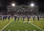 November 10, 2012: The Nevada band performs at halftime during the Fresno State Bulldogs against the Nevada Wolf Pack NCAA football game played at Mackay Stadium on Saturday night in Reno, Nevada.