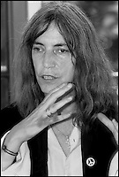Patti Smith reading al museo Hermann Hesse a Montagnola Lugano   luglio 2003