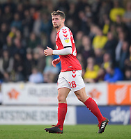 Fleetwood Town's Jack Sowerby<br /> <br /> Photographer Chris Vaughan/CameraSport<br /> <br /> The EFL Sky Bet League One - Saturday 23rd February 2019 - Burton Albion v Fleetwood Town - Pirelli Stadium - Burton upon Trent<br /> <br /> World Copyright © 2019 CameraSport. All rights reserved. 43 Linden Ave. Countesthorpe. Leicester. England. LE8 5PG - Tel: +44 (0) 116 277 4147 - admin@camerasport.com - www.camerasport.com