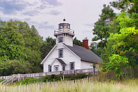 Mission Point Lighthouse, Lake Michigan, Michigan