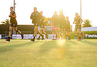 Blacksticks during warmups before the World Hockey League final between the Netherlands and New Zealand. North Harbour Hockey Stadium, Auckland, New Zealand. Sunday 26 November 2017. Photo:Simon Watts / www.bwmedia.co.nz