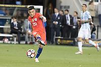 Santa Clara, CA - Monday June 6, 2016: Chile's Charles Aranguiz (20). Argentina played Chile in the group D match of the Copa América Centenario game at Levi's Stadium.