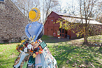 Festive Scarecrow, Prallsville Mills, Stockton, New Jersey
