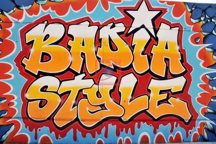 Street Art-Graffittis.<br /> Badia del Vall&egrave;s.