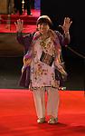 Agnès Varda arrive à la cérémonie des César 2014, France, Paris, Théatre du Chatelet