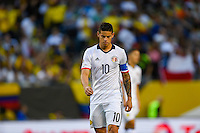 Chicago, IL - Wednesday June 22, 2016: James Rodriguez during a Copa America Centenario semifinal match between Colombia (COL) and Chile (CHI) at Soldier Field.