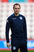 Ex AFC Bournemouth player Shaun MacDonald of Wigan Athletic during AFC Bournemouth vs Wigan Athletic, Emirates FA Cup Football at the Vitality Stadium on 6th January 2018
