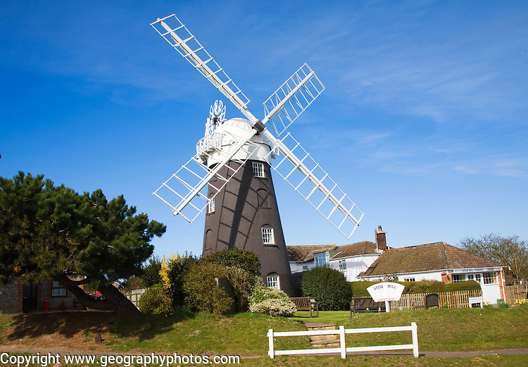 Stow Mill windmill, Mundesley, Norfolk, England
