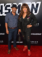 Kym Whitley &amp; Guest at the Los Angeles premiere of &quot;BlacKkKlansman&quot; at the Academy's Samuel Goldwyn Theatre, Beverly Hills, USA 08 Aug. 2018<br /> Picture: Paul Smith/Featureflash/SilverHub 0208 004 5359 sales@silverhubmedia.com