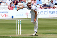 Paul Walter in bowling action for Essex during Essex CCC vs Middlesex CCC, Specsavers County Championship Division 1 Cricket at The Cloudfm County Ground on 26th June 2017