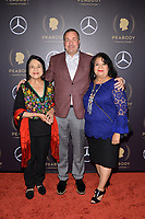 NEW YORK - MAY 18: Dolores Huerta, Brian Benson and Alicia Huerta attend the 78th Annual Peabody Awards at Cipriani Wall Street on May 18, 2019 in New York City. (Photo by Anthony Behar/FX/PictureGroup)