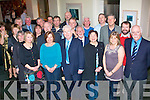 9733-9738.---------.Retiring.--------.Tadgh McCarthy(Standing centre(from Killarney)who retired from FAS training centre Monevalley Tralee after 34yrs celebrated with many of his colleagues in the Ballyroe Heights hotel last Friday night,there with him were L-R Ann Sheehy,Margaret Murna,Eileen O Sullivan,Tony Curren,Liam Walsh,Benadette Corridon,John O keeffe,Christy Enright,John Quill,Larry Daly,George Emerson,Paul Dolan,Brian Crowley,Tim Scannell,Noreen O Flaherty,Martin Mitchel,Jogh hoare,Monica Dillane,John Doherty and Des O Halloran(FAS centre manager).