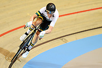 Picture by SWpix.com - 02/03/2018 - Cycling - 2018 UCI Track Cycling World Championships, Day 3 - Omnisport, Apeldoorn, Netherlands - Men's Points Race - Cameron Meyer of Australia