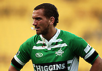 Manawatu first five Aaron Cruden. Air NZ Cup - Wellington Lions v Manawatu Turbos at Westpac Stadium, Wellington, New Zealand. Saturday 3 October 2009. Photo: Dave Lintott / lintottphoto.co.nz