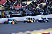#18: Kyle Busch, Joe Gibbs Racing, Toyota Camry M&M's Hazelnut, #24: William Byron, Hendrick Motorsports, Chevrolet Camaro Hendrick Autoguard