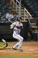 ***Temporary Unedited Reference File***Jacksonville Suns shortstop J.T. Riddle (4) during a game against the Jackson Generals on May 4, 2016 at The Ballpark at Jackson in Jackson, Tennessee.  Jackson defeated Jacksonville 11-6.  (Mike Janes/Four Seam Images)