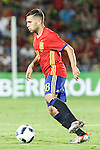 Spain's Jordi Alba during the up match between Spain and Georgia before the Uefa Euro 2016.  Jun 07,2016. (ALTERPHOTOS/Rodrigo Jimenez)