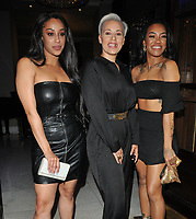 Stooshe (Alexandra Buggs, Karis Anderson and Courtney Rumbold) at the DIVA Magazine Awards 2018, Waldorf Hilton Hotel, Aldwych, London, England, UK, on Friday 08 June 2018.<br /> CAP/CAN<br /> &copy;CAN/Capital Pictures