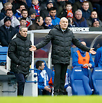 Mark Warburton and David Weir
