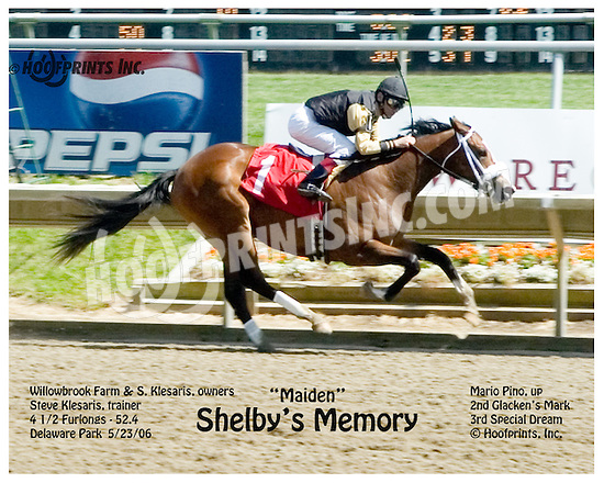 Shelby's Memory winning at Delaware Park on 5/23/06