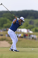 Jon Rahm (ESP) tees off the 7th tee during Friday's Round 2 of the 117th U.S. Open Championship 2017 held at Erin Hills, Erin, Wisconsin, USA. 16th June 2017.<br /> Picture: Eoin Clarke | Golffile<br /> <br /> <br /> All photos usage must carry mandatory copyright credit (&copy; Golffile | Eoin Clarke)