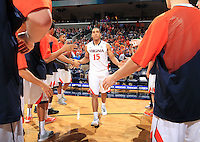 Virginia guard Malcolm Brogdon (15)during the game Jan. 7, 2015, in Charlottesville, Va. Virginia defeated NC State  61-51.