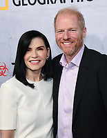 """09 May 2019 - Beverly Hills, California - Julianna Margulies, Noah Emmerich. National Geographic Screening of """"The Hot Zone"""" held at Samuel Goldwyn Theater. <br /> CAP/ADM/BB<br /> ©BB/ADM/Capital Pictures"""
