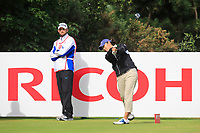 Tiffany Joh (USA) on the 3rd tee during Round 3 of the Ricoh Women's British Open at Royal Lytham &amp; St. Annes on Saturday 4th August 2018.<br /> Picture:  Thos Caffrey / Golffile<br /> <br /> All photo usage must carry mandatory copyright credit (&copy; Golffile   Thos Caffrey)