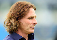 Wycombe Wanderers manager Gareth Ainsworth during the pre-match warm-up<br /> <br /> Photographer Andrew Vaughan/CameraSport<br /> <br /> The EFL Sky Bet League One - Wycombe Wanderers v Lincoln City - Saturday 7th September 2019 - Adams Park - Wycombe<br /> <br /> World Copyright © 2019 CameraSport. All rights reserved. 43 Linden Ave. Countesthorpe. Leicester. England. LE8 5PG - Tel: +44 (0) 116 277 4147 - admin@camerasport.com - www.camerasport.com