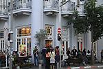 Israel, Tel Aviv-Yafo, Olive restaurant on Lilienblum Street