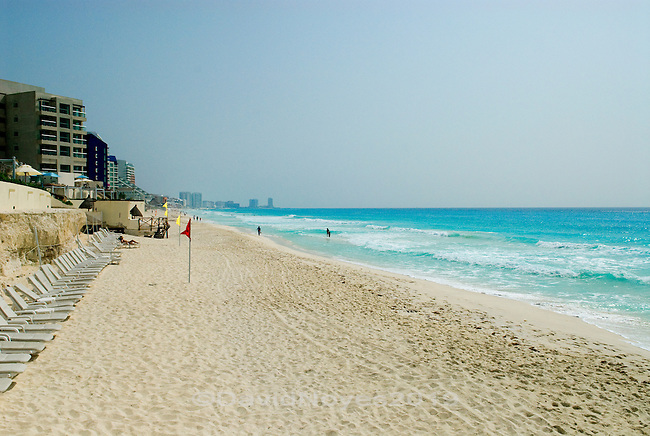 Cancún, Mexico has one of the most beautiful beaches in the world. It is hard to imagine that not long ago this tiny island that draws millions of tourists each year was a deserted sandy spit visited only by local fisherman. When development of the Hotel zone was started in 1970, Isla Cancún had only three residents.