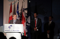 Montreal, CANADA, June, 2015  File Photo<br /> <br /> Louis audet,  President and CEO, cogeco<br /> ,attend the The International Economic Forum of the Americas<br /> <br /> Photo :   Pierre Roussel - AQP