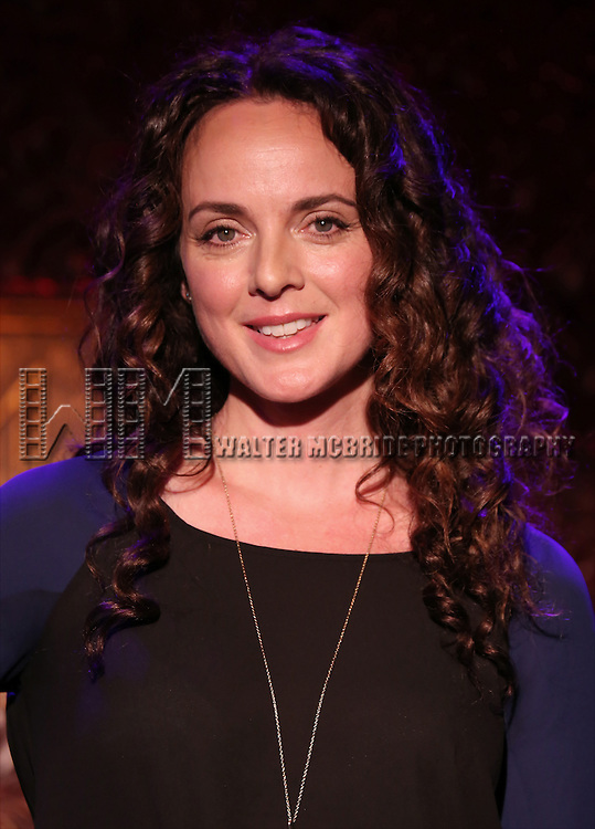 "Melissa Errico performs A Special Press Preview of her upcoming show ""At the Corner of 54th and Crazy""  at 54 Below on April 4, 2014 in New York City."